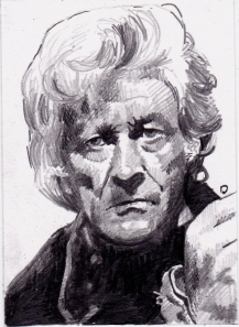 John Pertwee as the third Doctor Who