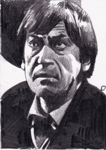 Patrick Troughton as the Second Doctor Who