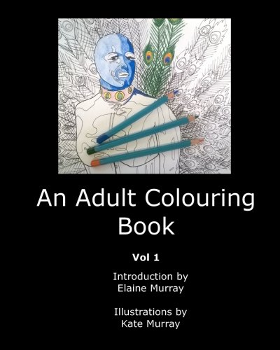 An Adult Colouring Book cover