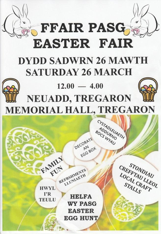 Easter Fair 2016 poster