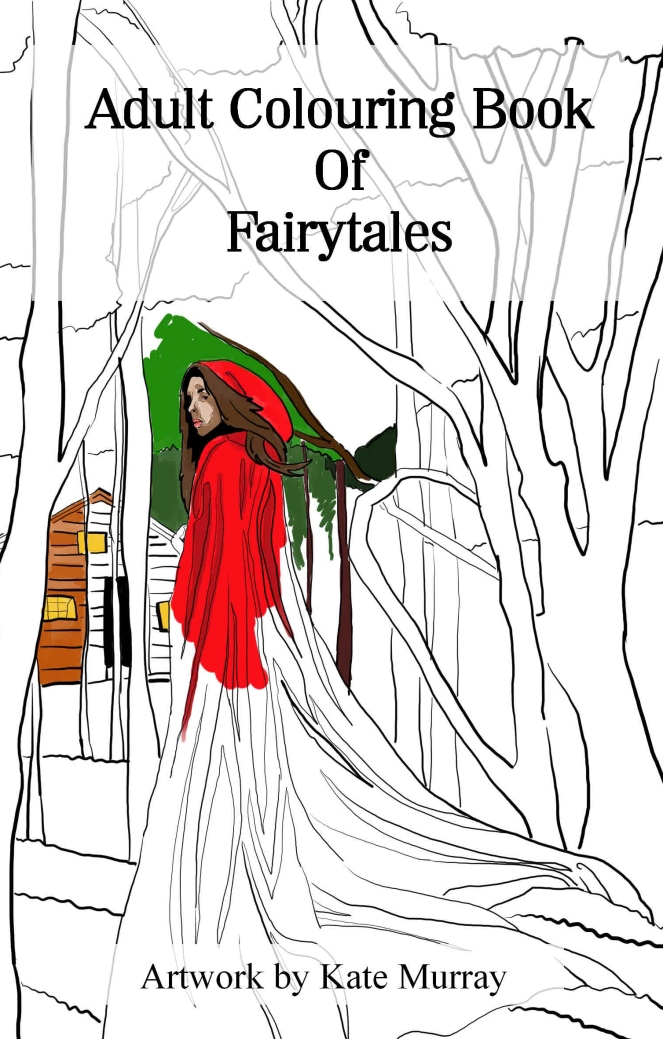 fairytale colouring book